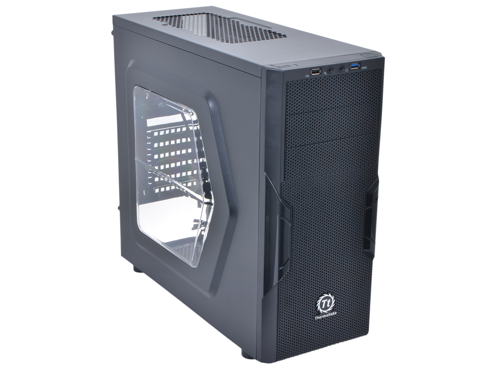 Корпус Thermaltake Versa H22 Black w/o PSU Window CA-1B3-00-M1WN-00 корпус zalman z9 neo black w o psu