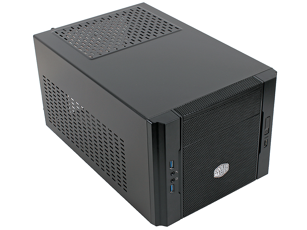 Корпус Cooler Master Elite 130 (RC-130-KKN1) Black, w\o PSU корпус системного блока coolermaster k280 rc k280 kkn1 w o psu black rc k280 kkn1