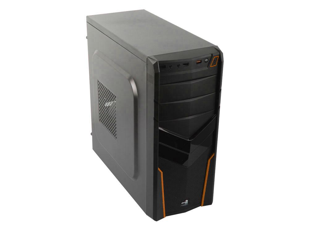 Корпус Aerocool V2X Orange, ATX, 600Вт, USB 3.0 , коннекторы 2x PCI-E (6+2-Pin), 4x SATA, 3x MOLEX, 1x 4+4-Pin