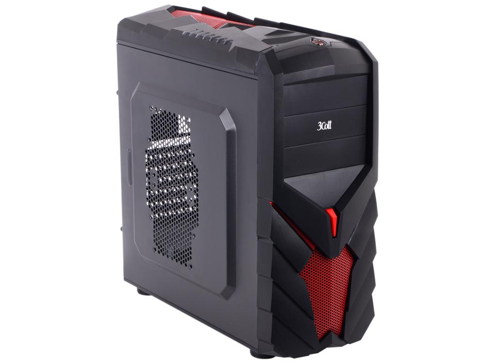 "Корпус 3Cott 3C-ATX129G ""Ninja"" ATX, 700 Вт 80+ PFC, USB 2.0x2, USB 3.0x1, HD Audio"