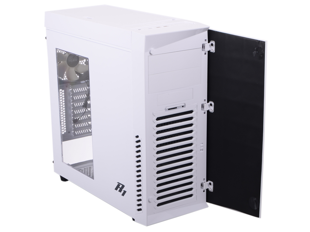 Корпус Zalman R1 White w\o PSU корпус zalman mid tower r1 white