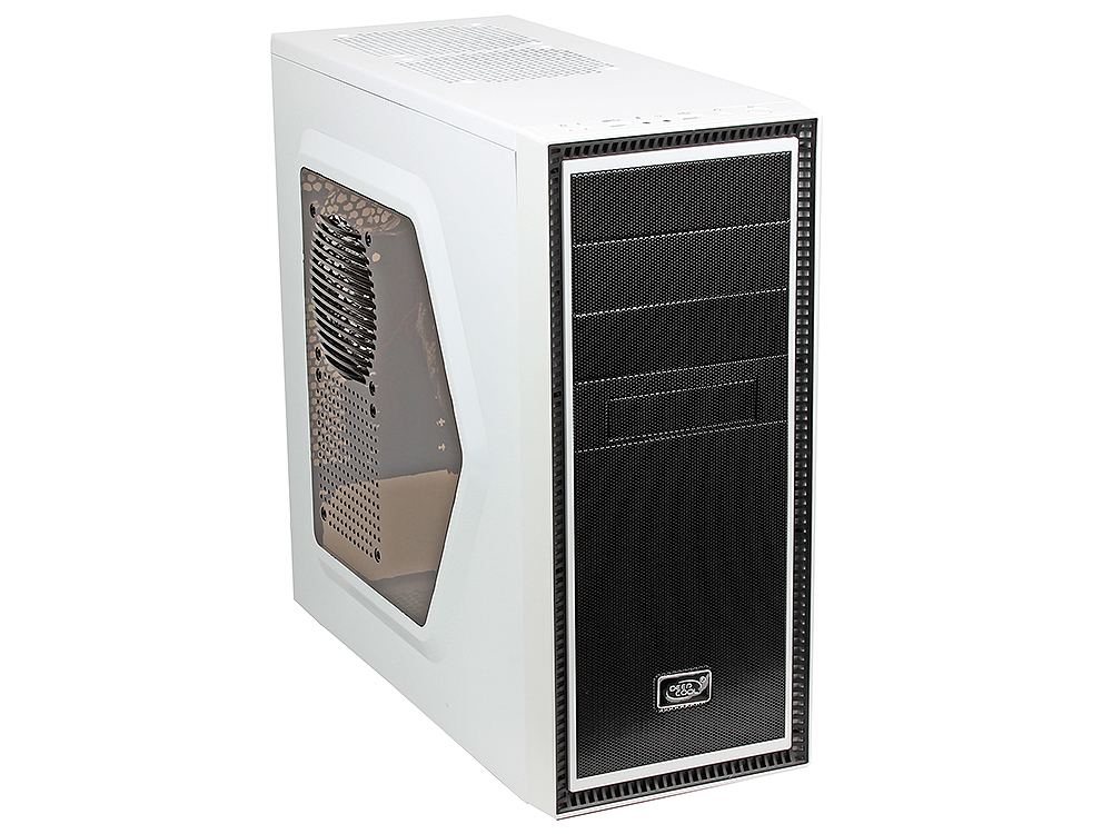 Корпус Deepcool TESSERACT SW White , ATX, без БП, окно, 1x USB 3.0, 1x USB 2.0, 1x 12cm LED fan. tesseract sw red