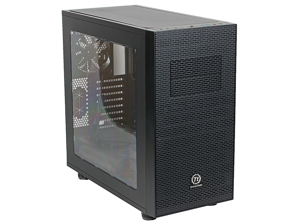 Корпус Thermaltake Core X31 Black w/o PSU,Window,CA-1E9-00M1WN-00 корпус exegate mi 207 w o psu black