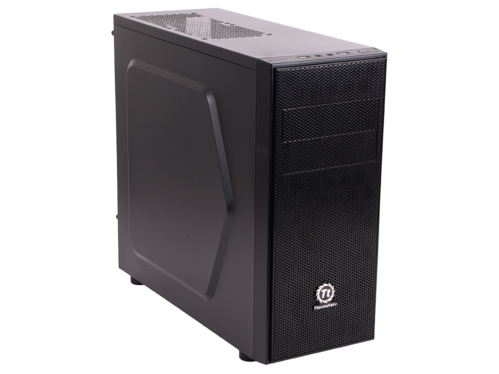Корпус Thermaltake Versa H24 Black w/o PSU,CA-1C1-00M1NN-02 корпус thermaltake core x2 black w o psu window ca 1d7 00c1wn 00 page 7 page 7
