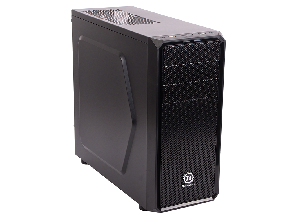 Корпус Thermaltake Versa H25 Black w/o PSU,CA-1C2-00M1NN-01 корпус thermaltake core x2 black w o psu window ca 1d7 00c1wn 00 page 7 page 7