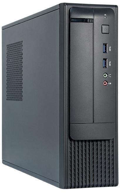 Корпус Chieftec FN-03B , slimline micro-ATX, 350W (SFX-350BS-L). Сталь 0.6мм , 2x USB 3.0