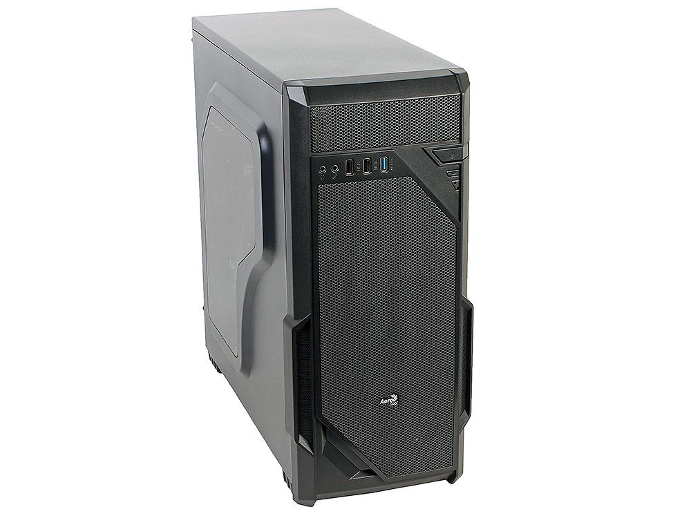 Корпус Aerocool Vs-1 Window, ATX, 600Вт (VX-600) , 1x USB3.0 + 2x USB2.0, коннекторы 2x PCI-E (6+2-Pin), 4x SATA, 3x MOLEX, 1x 4+4-Pin