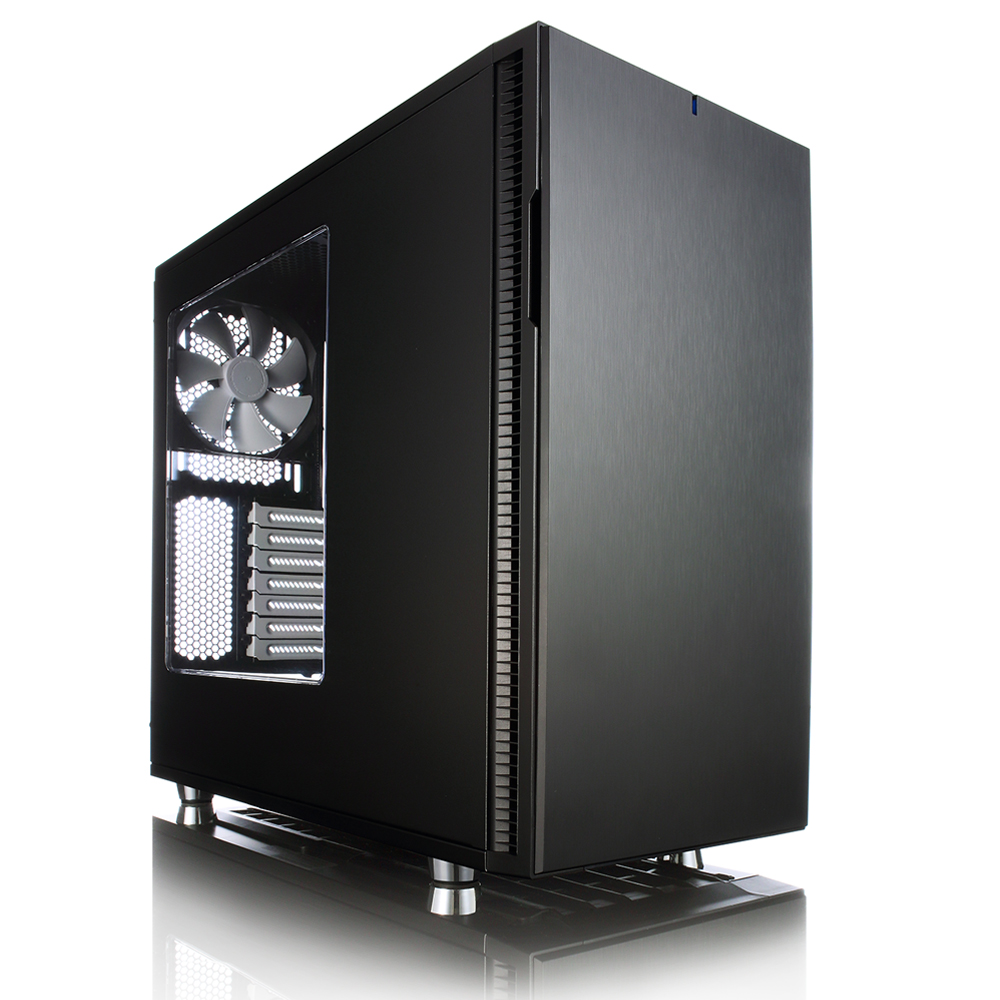 Корпус ATX Fractal Define R5 Без БП чёрный FD-CA-DEF-R5-BK-W 082590 корпус fractal define r5 window fd ca def r5 bk w black