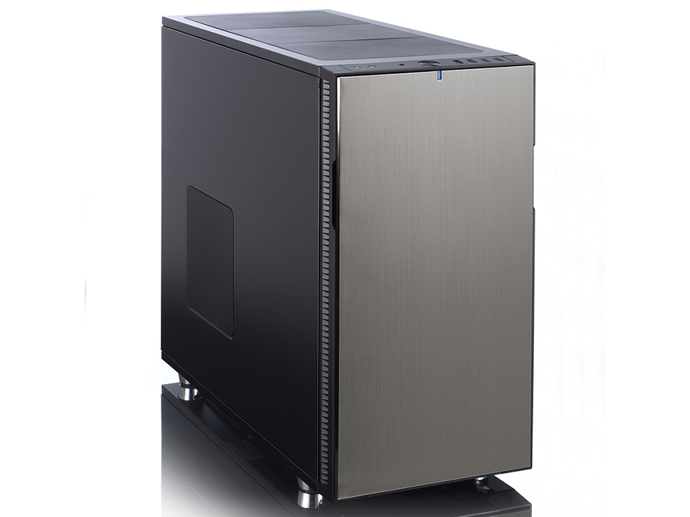 Корпус ATX Fractal Design Define R5 Titanium Без БП чёрный корпус matx fractal design define mini c tg mini tower без бп черный