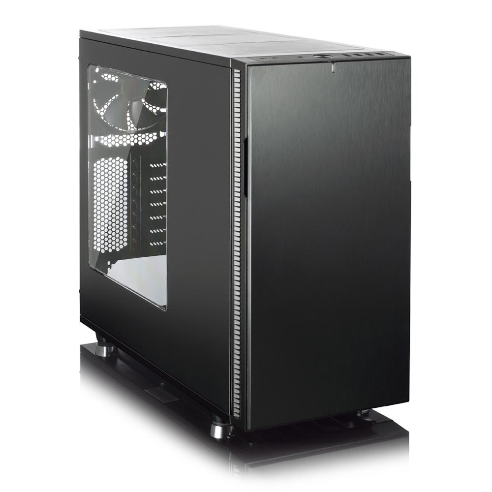 Корпус ATX Fractal Design Define R5 Window Без БП чёрный FD-CA-DEF-R5-BKO-W корпус fractal define r5 window fd ca def r5 bk w black