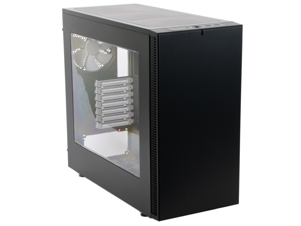 Корпус mini-ITX Fractal Design Define S Window Без БП чёрный nature s fractal geometry