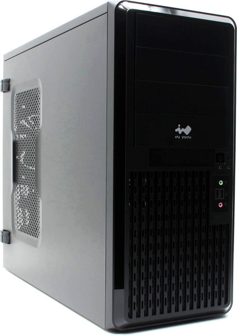 все цены на Корпус ATX InWin PE689U3 600 Вт чёрный онлайн