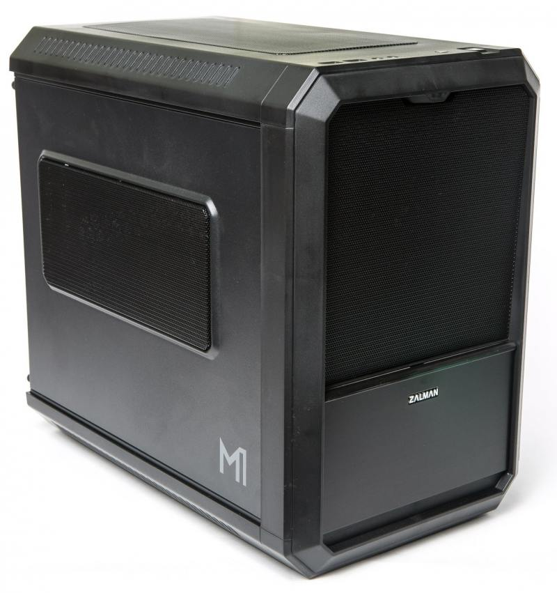 Корпус mini-ITX Zalman M1 Без БП чёрный