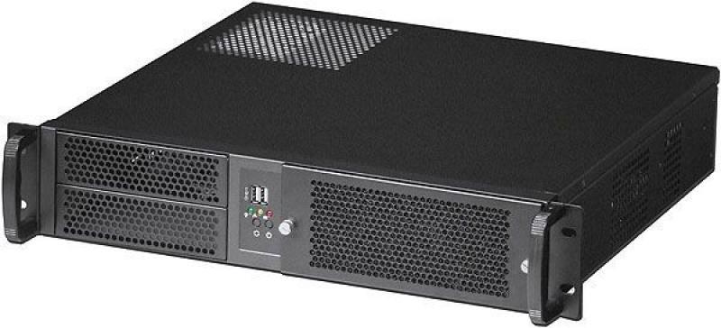 Серверный корпус 2U Procase EM238F-B-0 Без БП чёрный бп 600 вт procase ga2600
