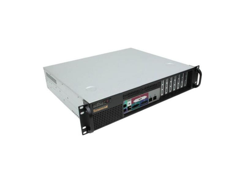 Серверный корпус 2U Supermicro CSE-523L-410B 410 Вт чёрный gigabyte игровая видеокарта