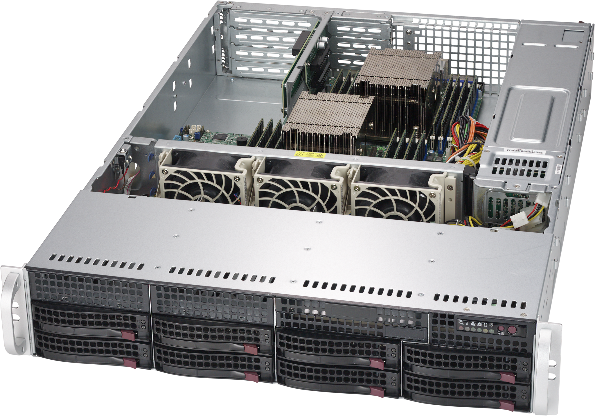 Серверный корпус SuperMicro CSE-825TQ-R500WB 2U E-ATX 13.68''x13' 8x3.5'' HotSwap SAS/SATA SES2 500В корпус серверный supermicro cse 825tq r720lpb cse 825tq r720lpb