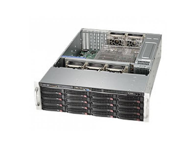 Серверный корпус 3U Supermicro CSE-836BE1C-R1K03B 1000 Вт чёрный серебристый free shipping 20pcs lot 30f122 30g122 lcd new original