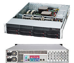 Серверный корпус 2U Supermicro CSE-825TQC-R740LPB 740 Вт чёрный напильник 203 мм truper lpb 8b 15221