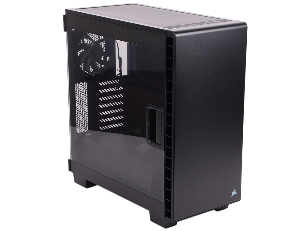 Корпус Corsair Carbide Series Clear 400C Black Window w/o PSU корпус corsair carbide series® clear 600c inverse black window w o psu