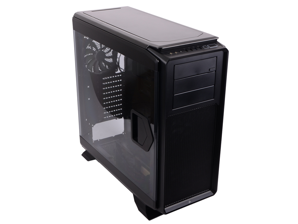 Корпус Corsair Graphite Series 760T Black Window w/o PSU корпус exegate mi 207 w o psu black