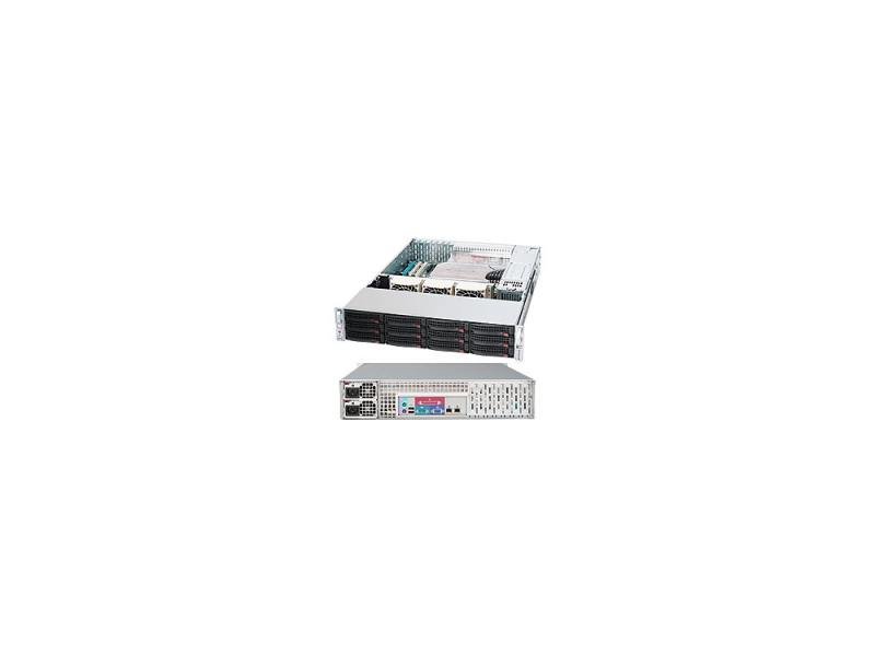 Корпус Supermicro CSE-826E16-R1200LPB 2U, 13.68''x13'', 12x3.5'' hot-swap, expander SFF8087, redundant 1200W