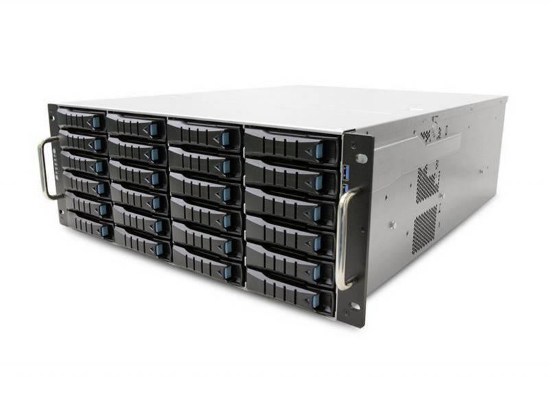 Серверный корпус 4U AIC RSC-4ETS 700 Вт чёрный корпус серверный