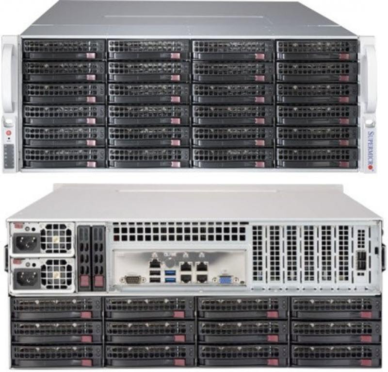 Картинка для Корпус Supermicro CSE-847BE1C-R1K28LPB 4U, redundant 1280W