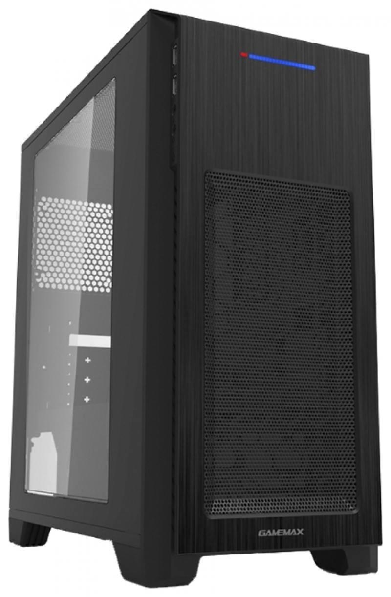 все цены на Корпус microATX GameMax H603BK Без БП чёрный