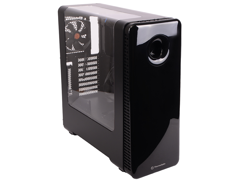 Корпус Thermaltake Versa View 28 Black w/o PSU,Window,CA-1H2-00M1WN-00 корпус zalman x7 black w o psu