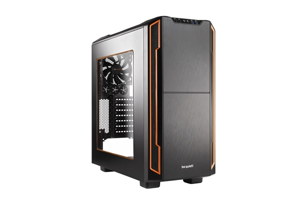 Корпус ATX BE QUIET! Silent Base 600 Без БП чёрный оранжевый корпус atx be quiet pure base 600 без бп чёрный оранжевый