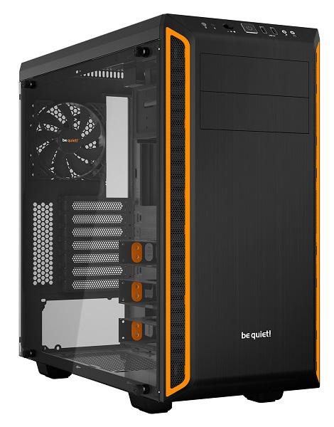 Корпус ATX BE QUIET! Pure Base 600 Без БП чёрный оранжевый корпус atx be quiet pure base 600 без бп чёрный bg021