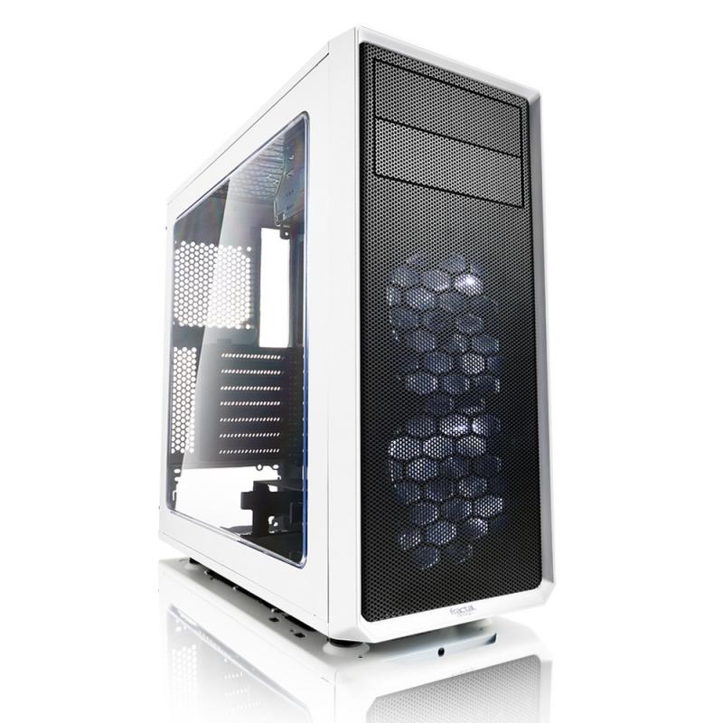 Корпус ATX Fractal Focus G Без БП белый FD-CA-FOCUS-WT-W свитшот print bar fractal