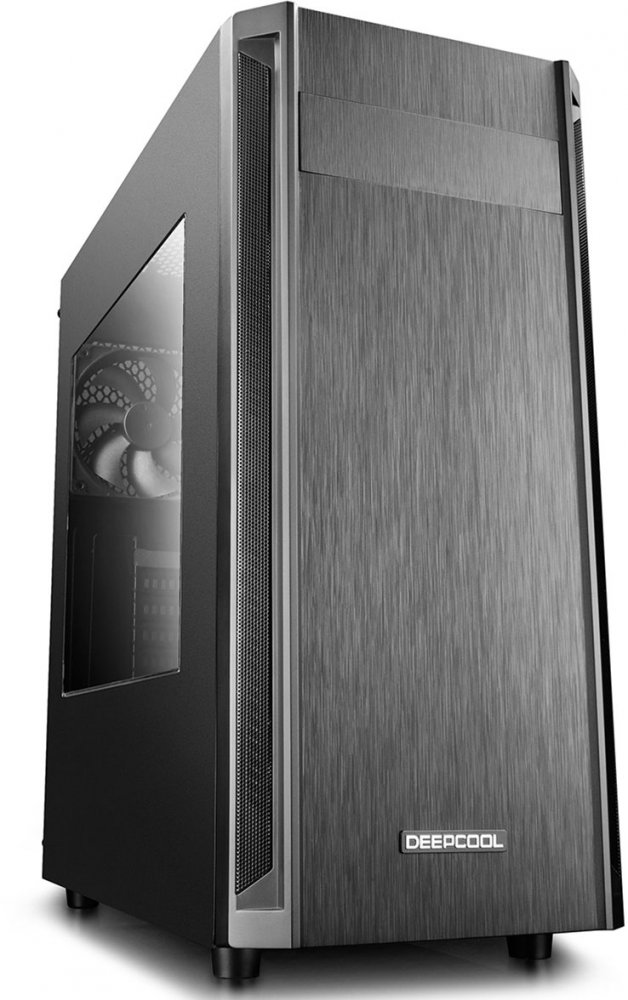 Корпус ATX Deepcool D-SHIELD V2 Без БП чёрный