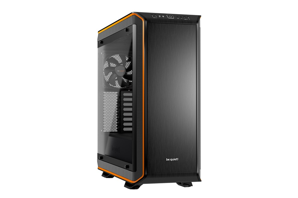 Корпус be quiet! DARK BASE PRO 900 ORANGE REV.2 / Full Tower / Side window / BGW14 корпус be quiet dark base pro 900 bgw12 silver