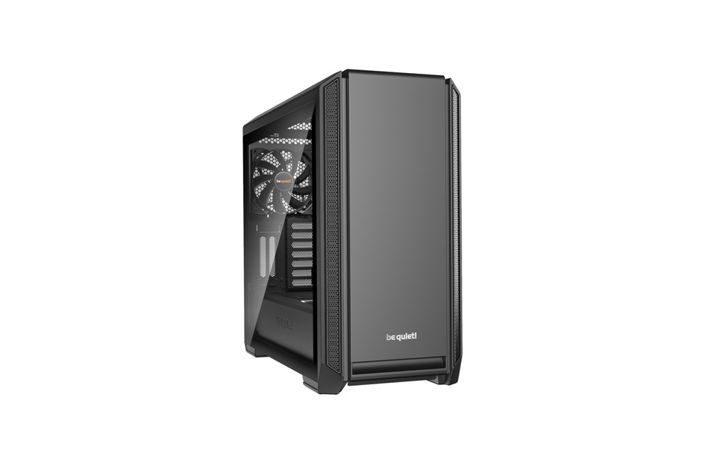 Корпус be quiet! SILENT BASE 601 Black / midi-tower / side window / BGW26