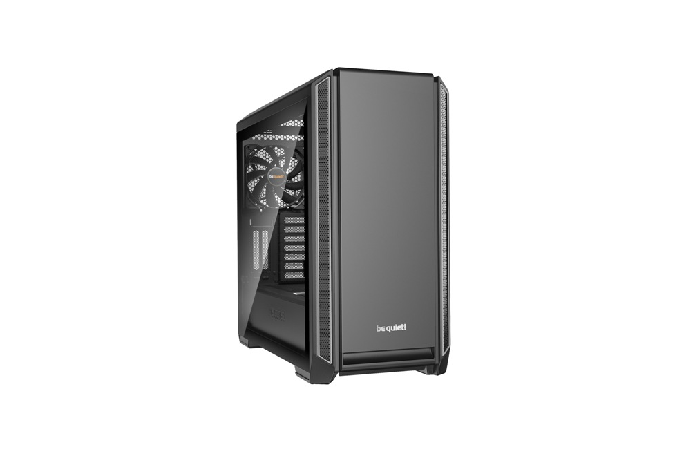 Корпус be quiet! SILENT BASE 601 Silver / midi-tower / side window / BGW27