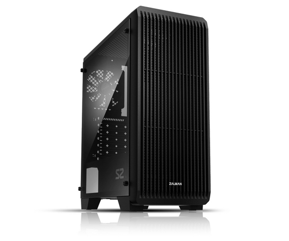 цена Корпус Zalman S2 Black w\o PSU