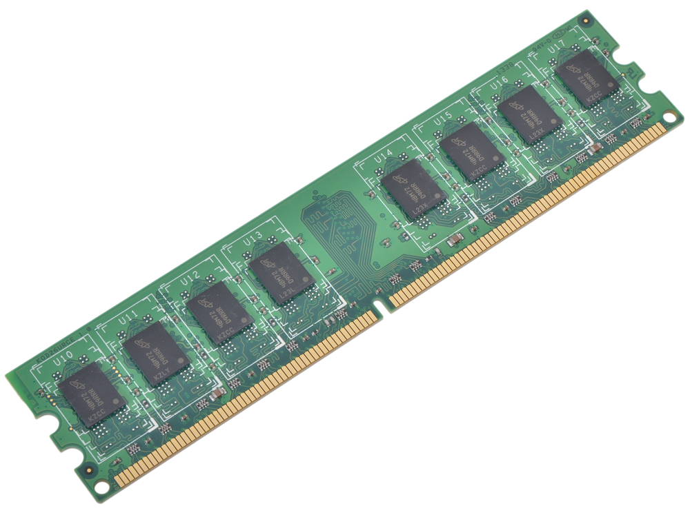 Оперативная память Crucial DDR2 2Gb, PC6400, DIMM, 800MHz (CT25664AA800) Retail