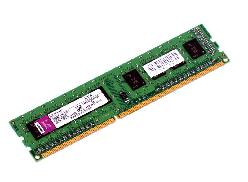 Память DDR3 2Gb (pc-10600) 1333MHz Kingston (Retail) (KVR1333D3S8N9/2G)