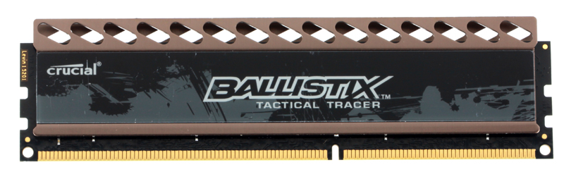 Память DDR3 8Gb (pc-12800) 1600MHz Crucial, Ballistix Tactical Tracer CL8, w/LED Red/Green (BLT8G3D1608DT2TXRGCEU)