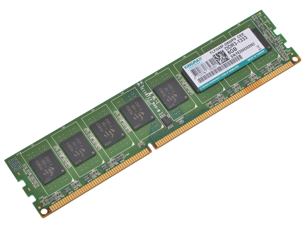 Память DDR3 8Gb (pc-10660) 1333MHz Kingmax