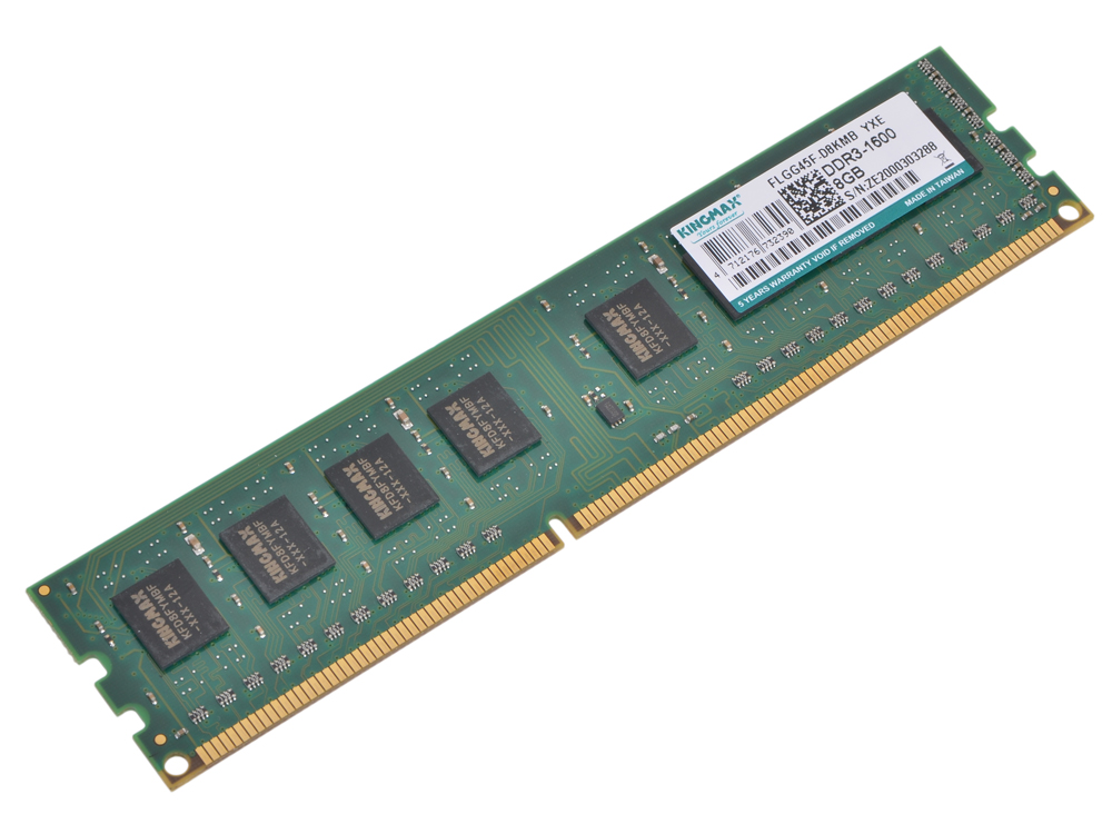 Память DDR3 8Gb (pc-12800) 1600MHz Kingmax