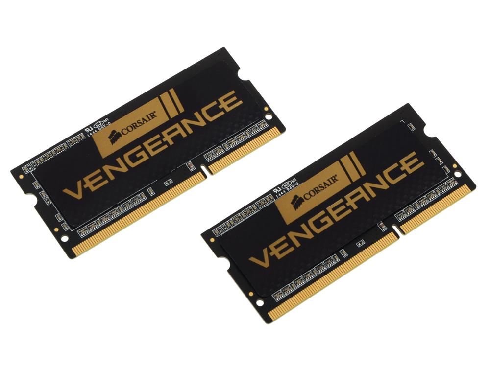 Память SO-DIMM DDR3L 2x4Gb Corsair 2133MHz RTL (PC3-17066) CL11 204-pin 1.35В (CMSX8GX3M2B2133C11)