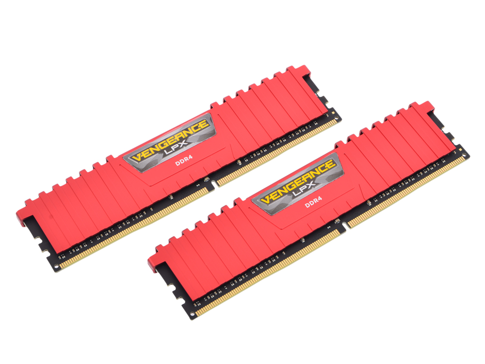 Память DDR4 2x4Gb 3200MHz Corsair CMK8GX4M2B3200C16R RTL PC4-25600 CL16 DIMM 288-pin 1.35В kit