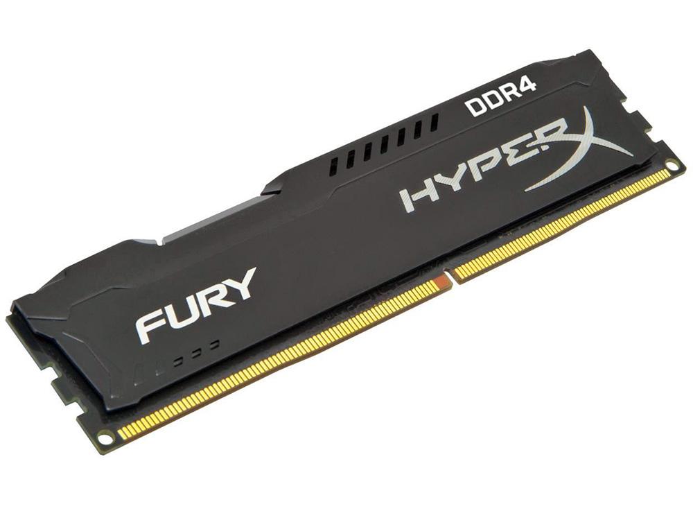 Память DDR4 8Gb (PC4-21300) 2666MHz Kingston HyperX Fury Black Series CL15 HX426C15FB/8