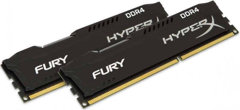 Оперативная память 16Gb (2x8Gb) PC4-19200 2400MHz DDR4 DIMM CL15 Kingston HX424C15FBK2/16