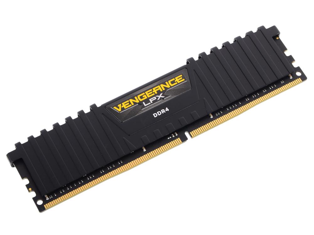 Память DDR4 8Gb 2666MHz Corsair Vengeance PC4-21300 CL16 RTL CMK8GX4M1A2666C16