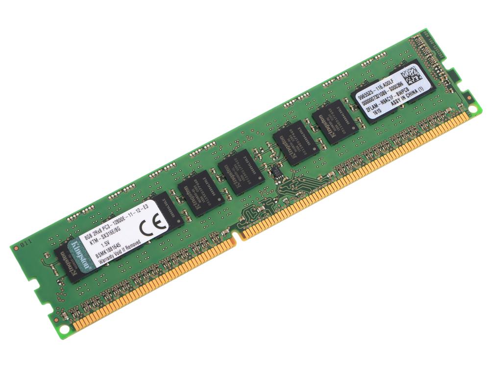Оперативная память 8Gb PC3-12800 1600MHz DDR3 DIMM ECC Kingston KTM-SX316E/8G. Производитель: Kingston, артикул: 0424220