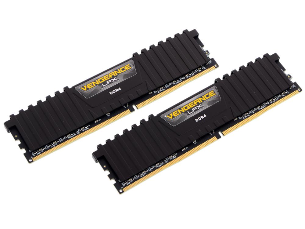 Память DDR4 16Gb 2x8Gb (PC4-19200) 2400MHz Corsair VENGEANCE C16 RTL CMK16GX4M2A2400C16