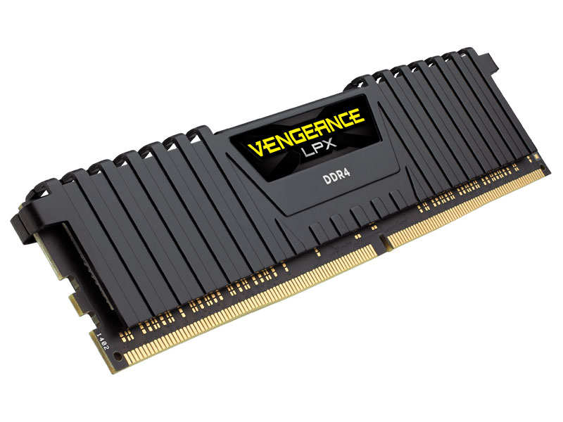 Память DDR4 8Gb (pc-19200) 2400MHz Corsair VENGEANCE С16 CMK8GX4M1A2400C16